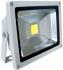 Прожектор светодиодный Camelion LFL-20-CW C09 серый 20Вт, 230В, 6500K-холодный белый