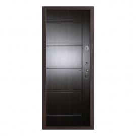 Дверь металлическая Меги 553-0446 венге 2050x970мм правая