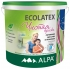 Краска ECOLATEX экологичная латексная, для стен и потолков 9л