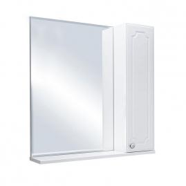 Зеркало Sanflor Ксения 70 правый, белый