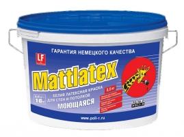 Краска ВД Поли-Р Mattlatex 3,5 кг