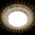 Светильник точечный Ambrella light G298 CL-WW хром, прозрачный GX53+3W LED WARM