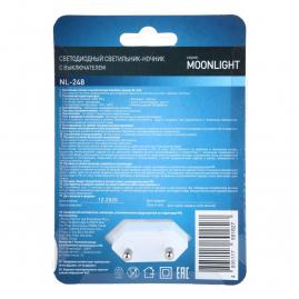 Ночник Camelion NL-248 с выключателем LED 220В 14355