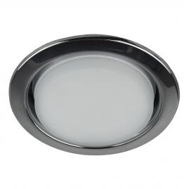 Светильник точечный Эра KL35 BK под лампу Gx53 13Вт черный металл