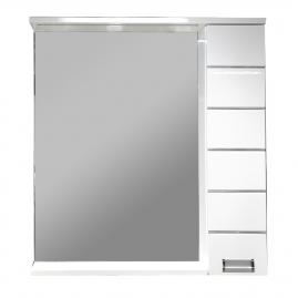 Зеркало AQUANET Доминика 80 LED, цвет белый 171081