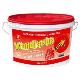"Краска ""Поли-Р""  Wandfarbe водно дисперсионная, для стен и потолков 3,5кг"