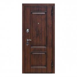 Дверь металлическая Вена винорит патина мдф/мдф белый матовый 2050x860мм правая