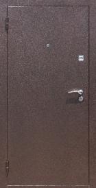 Дверь металлическая Стройгост 7-2 металл/металл, правая 880х2060мм