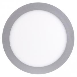 Светильник светодиодный встраиваемый Jazzway круг 12Вт 6500K 170x25мм алюминий PPL- RPG