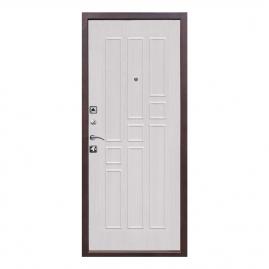 Дверь металлическая Гарда 1512 беленый ясень, левая 860