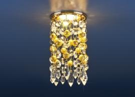 Точечный светильник Strotskis 2029 MR16 золото, прозрачный
