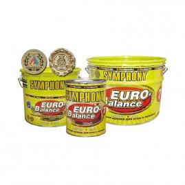 Краска ВД Symphony евро-баланс 7 А влагостойкая металл 0,9л