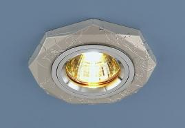 Точечный светильник 2040/2 серебро SC