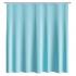 Штора для ванной комнаты Fora ЖАККАРД, голубая 001-F
