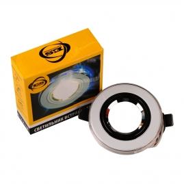 Точечный светильник 2060/2 мульти Подсветка (SL/7-LED) SC, хромированный