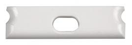 Заглушка торцевая сквозная для профиля PAL 2406