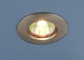 Точечный светильник MR16, 601 сатин никель